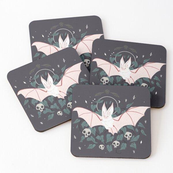 Familiar - Desert Long Eared Bat Coasters (Set of 4)