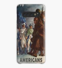 Vintage poster - World War II Case/Skin for Samsung Galaxy