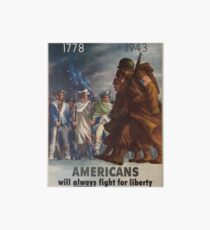 Vintage poster - World War II Art Board