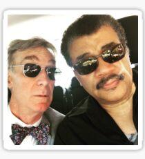 Neil DeGrasse Tyson and Bill Nye Sticker