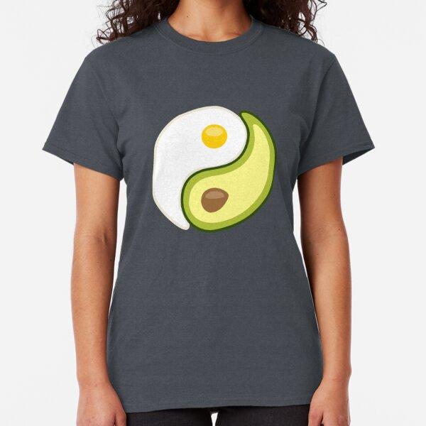 Avocado Egg Yin Yang Classic T-Shirt