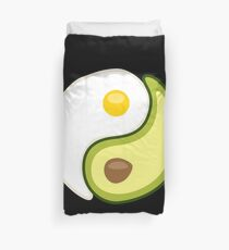 Avocado Egg Yin Yang Duvet Cover