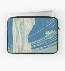 Vintage poster - Yellowstone Laptop Sleeve