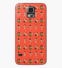 Art model weed Censorship Case/Skin for Samsung Galaxy