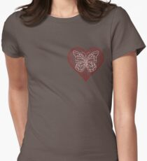 Please Keep Safe My Fragile Heart Womens Fitted T-Shirt