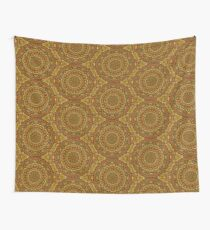 Autumn Leaves in the Fitzroy Gardens Mandala Wall Tapestry