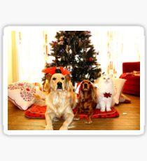 Christmas Pets Sticker