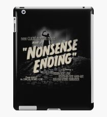 Nonsense Ending iPad Case/Skin