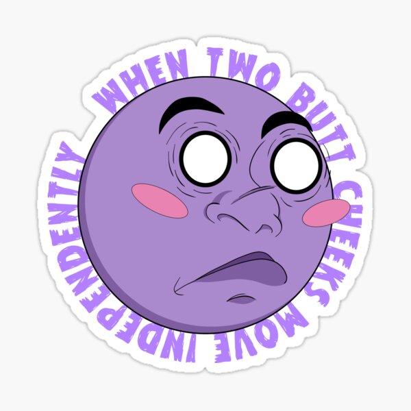 I'm Blushing Sticker