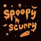Spoopy Scurry  by straungewunder