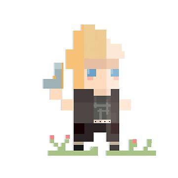 Pixel Prompto by singtome