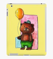 Brown Bear Balloon iPad Case/Skin
