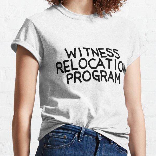 Programme de réinstallation des témoins Simpsons T-shirt classique