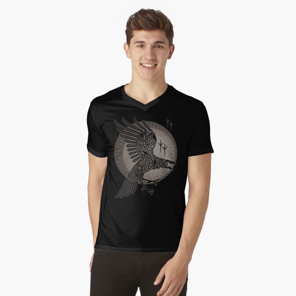 RABE T-Shirt mit V-Ausschnitt