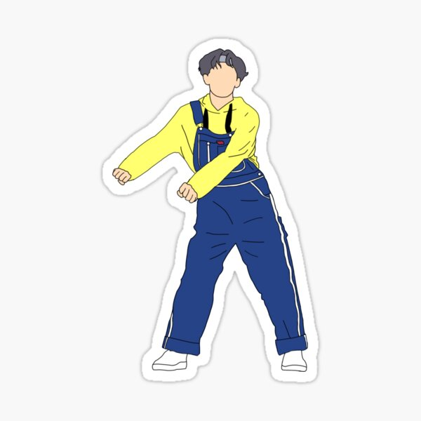 BTS 방탄소년단 V/TAEHYUNG FLOSS DANCE Sticker