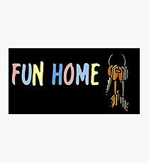 Fun Home- Ring of Keys Photographic Print