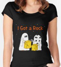 Halloween: I Got A Rock Women's Fitted Scoop T-Shirt