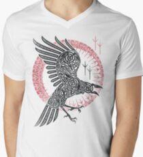 RAGNARS RABEN T-Shirt mit V-Ausschnitt