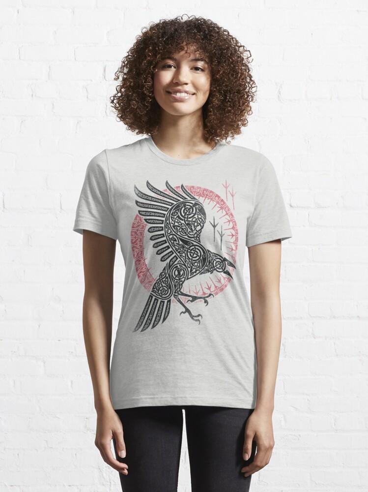Alternate view of RAGNAR'S RAVEN Essential T-Shirt