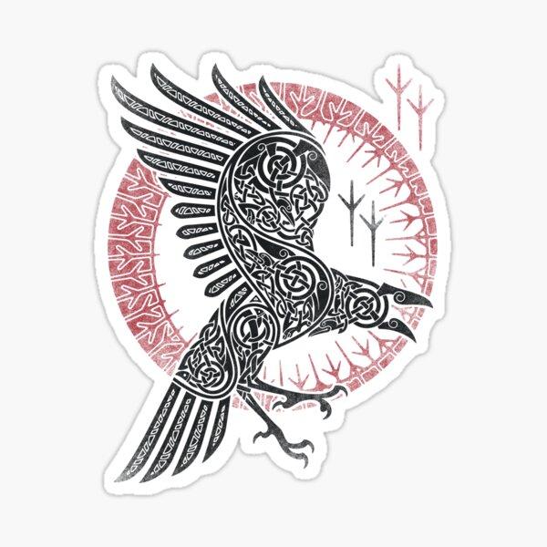 RAGNAR'S RAVEN Sticker