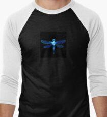 Blue Dragonfly Men's Baseball ¾ T-Shirt