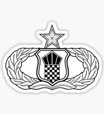 USAF ATC 7-Level Badge Sticker