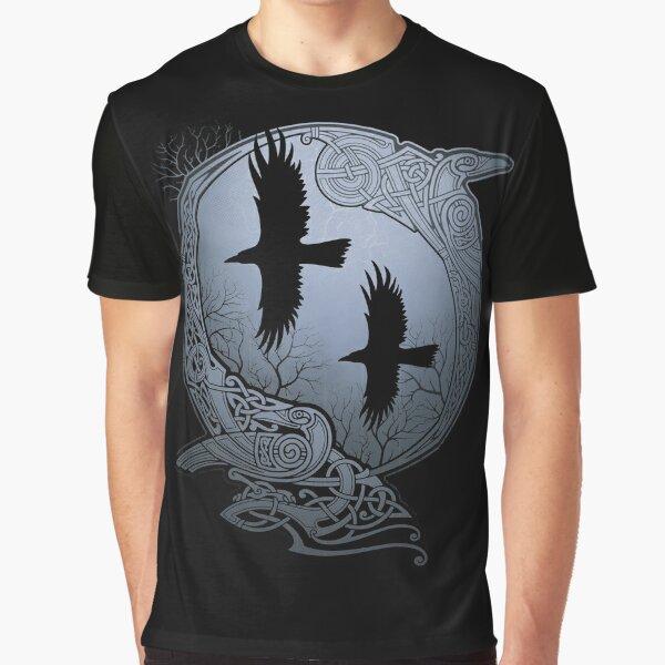ODIN'S RAVENS Graphic T-Shirt