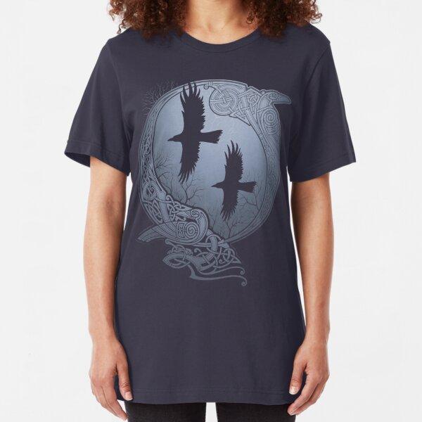 ODIN'S RAVENS Slim Fit T-Shirt