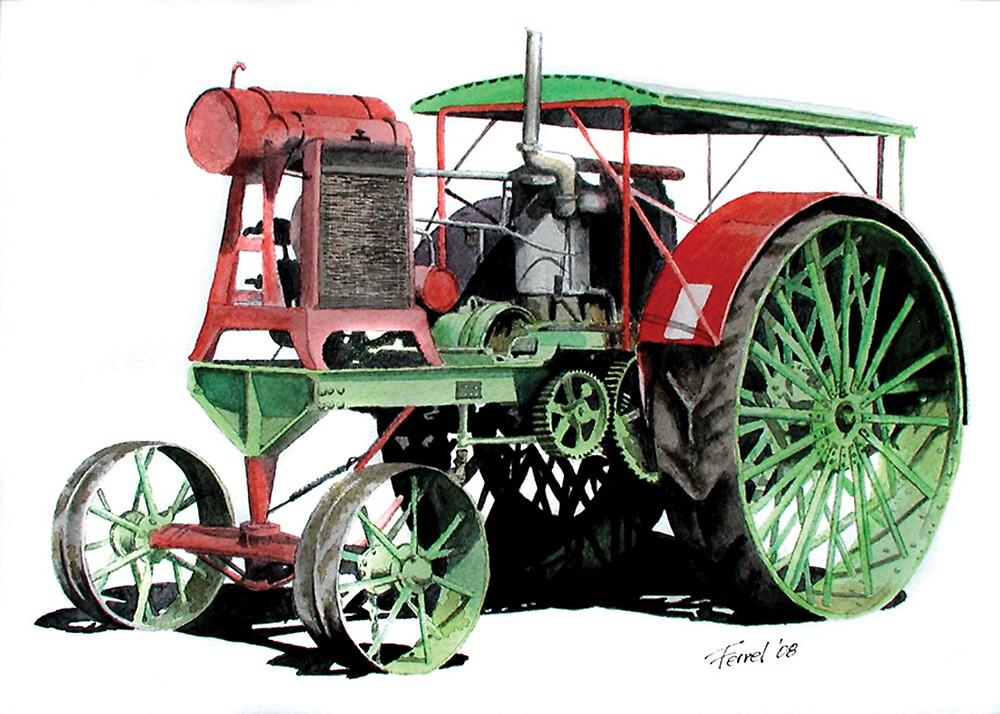 Flour City Tractor by ferrel cordle