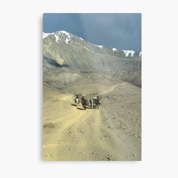 SILK ROAD, AFGHANISTAN Metal Print