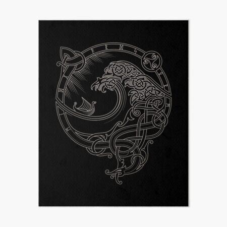 NORTH WIND Art Board Print