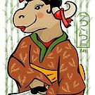 Year of the Ox Geisha, 2009 by elledeegee