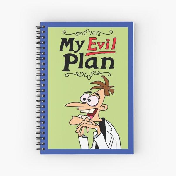 Prop Replica: Dr. Heinz Doofenshmirtz My Evil Plan Journal Spiral Notebook