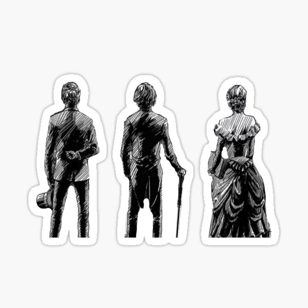 The Infernal Devices Trio Sticker