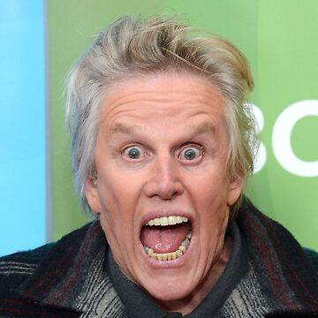 Gary Busey With His Mouth Open by pntpombtmwbu