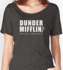 The Office Dunder Mifflin Women's Relaxed Fit T-Shirt