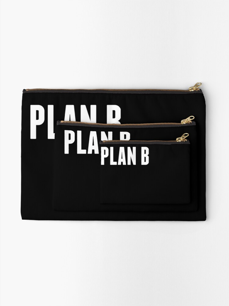 Alternate view of Harrison the Artist: PLAN B Collection Zipper Pouch