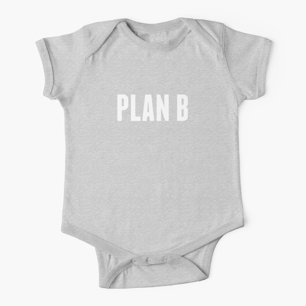 Harrison the Artist: PLAN B Collection Baby One-Piece