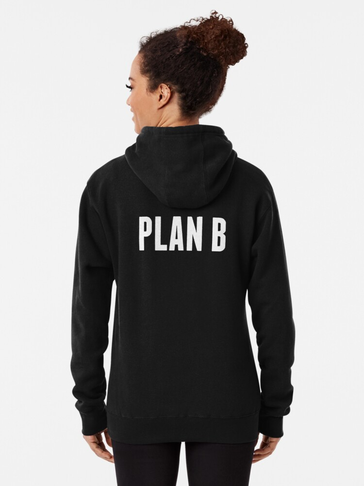 Alternate view of Harrison the Artist: PLAN B Collection Pullover Hoodie