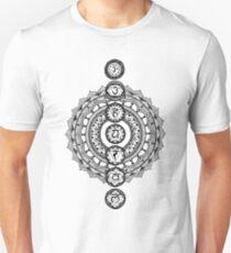 The Seven Chakras Mandala T-Shirt