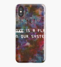 The biggest flaw. iPhone Case/Skin
