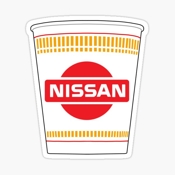 Cup Nissan Sticker