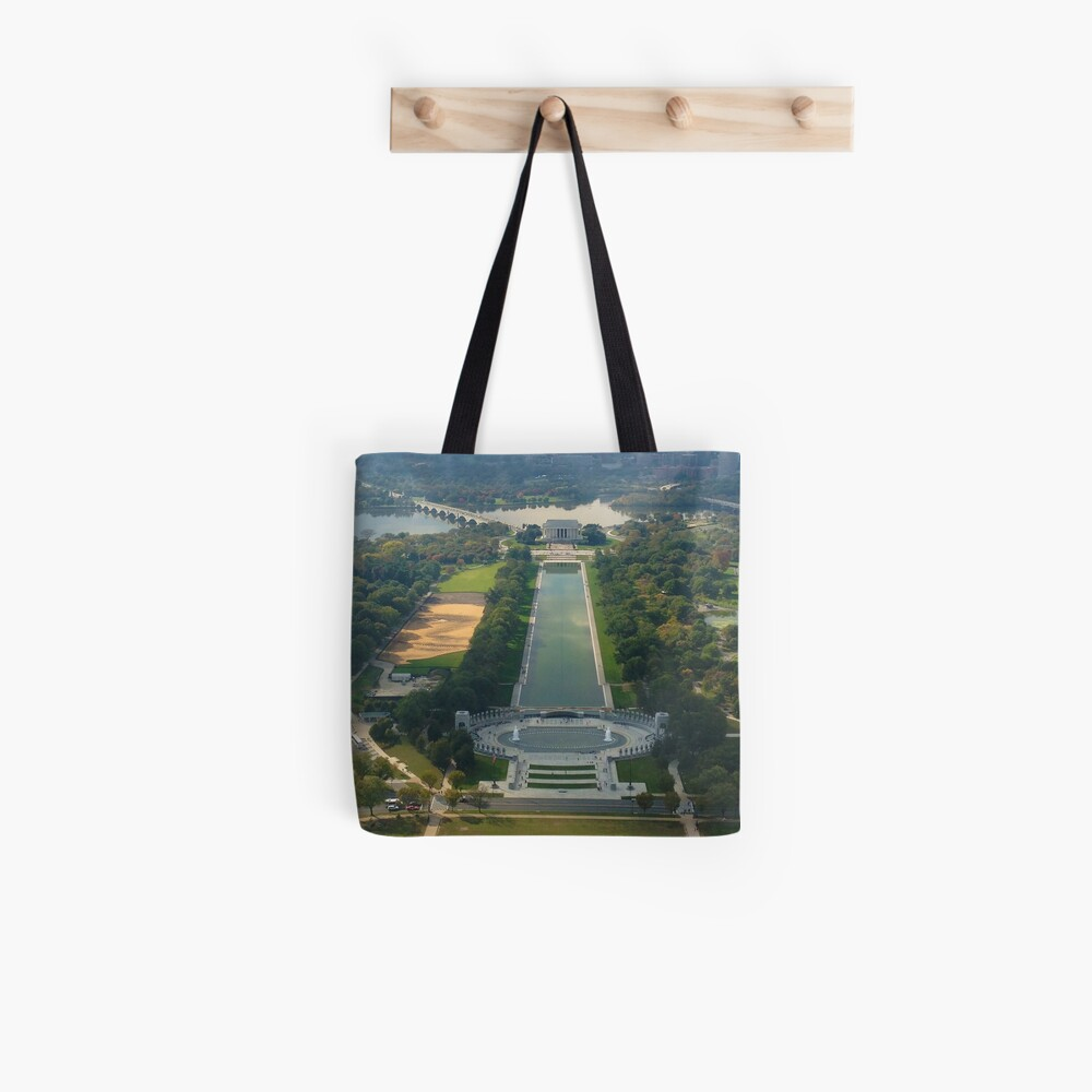 """""""Out of Many, One"""" land sculpture Tote Bag"""