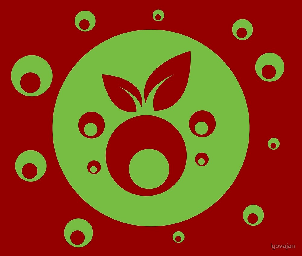 Berry design #redbubble #decor #buyart #artprint by lyovajan