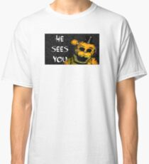 Five NIghts at Freddy's - Golden Classic T-Shirt