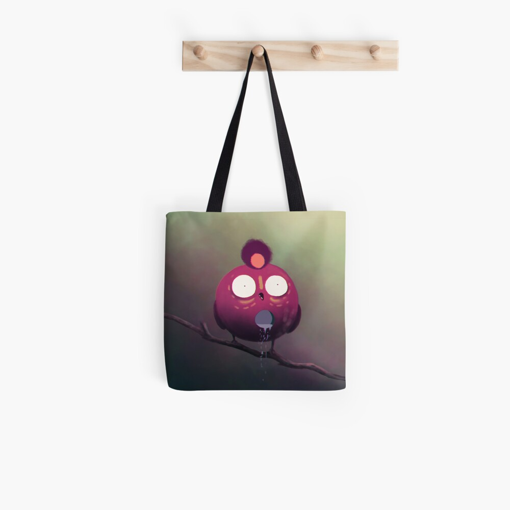 the dripping bird Tote Bag
