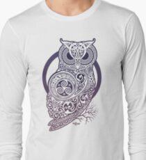 CELTIC OWL Long Sleeve T-Shirt