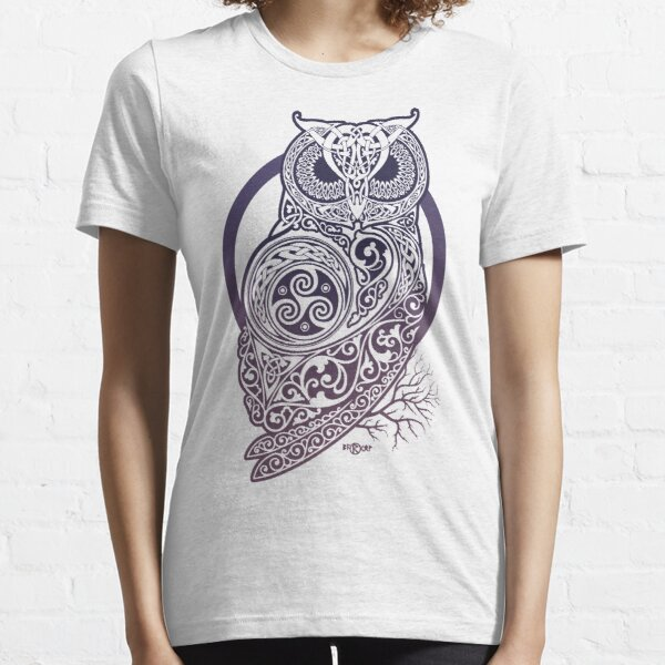 CELTIC OWL Essential T-Shirt