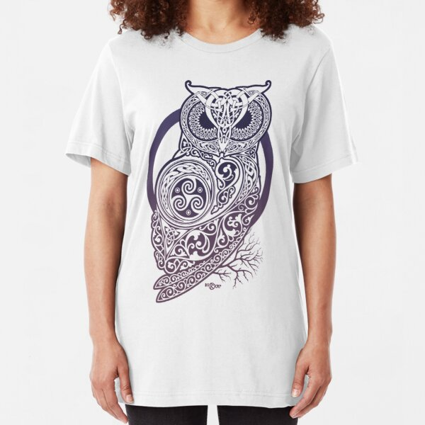CELTIC OWL Slim Fit T-Shirt