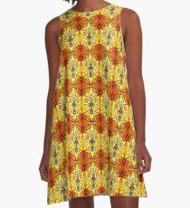 Yellow Pop A-Line Dress